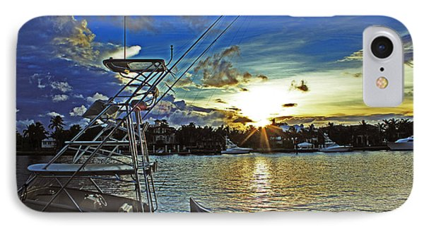 Ft. Lauderdale Sunset IPhone Case by Alison Tomich