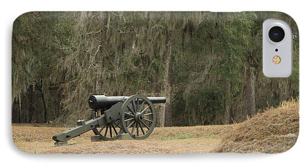 Ft. Mcallister Cannon 2 In Color IPhone Case