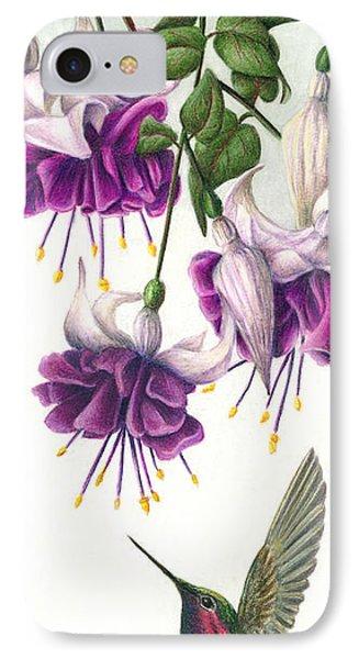 Fuchsia Beauty IPhone Case by Pat Erickson