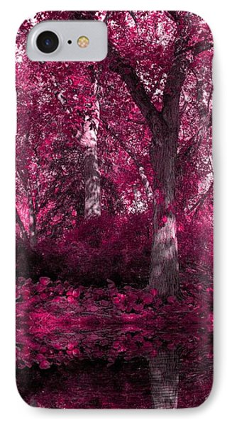 Fuchsia Forest IPhone Case by Sheena Pike