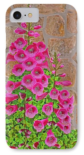 Fuchsia Profusion IPhone Case