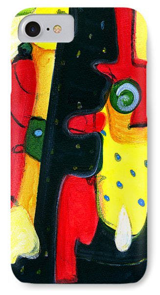 IPhone Case featuring the painting Fuego by Stephen Lucas