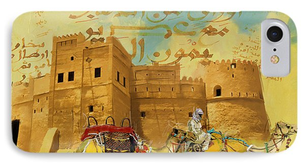 Fujairah Fort IPhone Case by Corporate Art Task Force