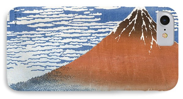 Fuji Mountains In Clear Weather IPhone Case