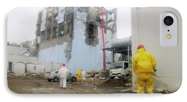 Fukushima Nuclear Disaster IPhone Case by Public Health England