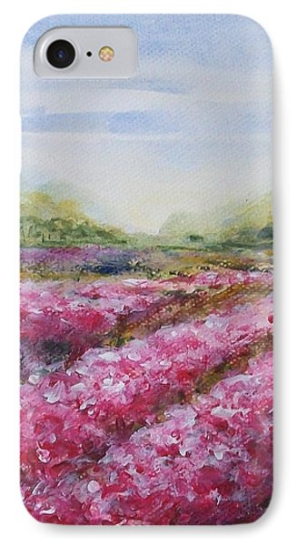 IPhone Case featuring the painting Full Bloom by Jane  See