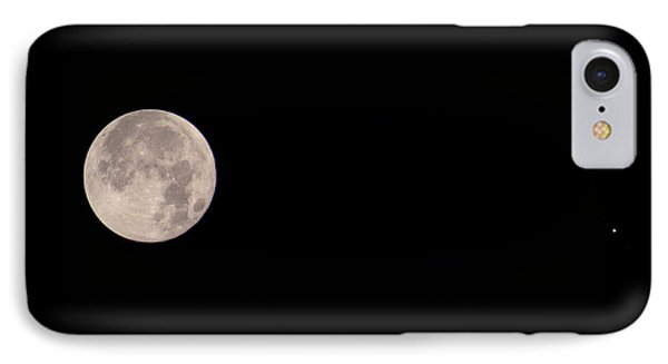 Full Moon & Jupiter IPhone Case