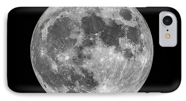 IPhone Case featuring the photograph Full Moon by Dennis Bucklin