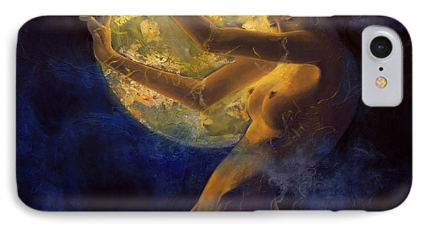 Full Moon IPhone Case by Dorina  Costras