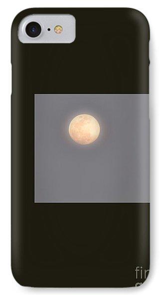 Full Moon Geometric IPhone Case by Darla Wood