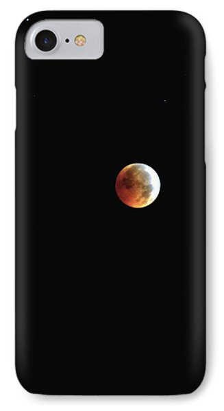 IPhone Case featuring the photograph Full Moon Lunar Eclipse by Kelly Nowak