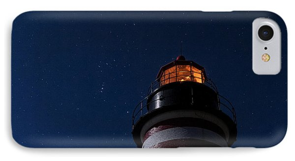 Full Moon On Quoddy IPhone Case by Marty Saccone