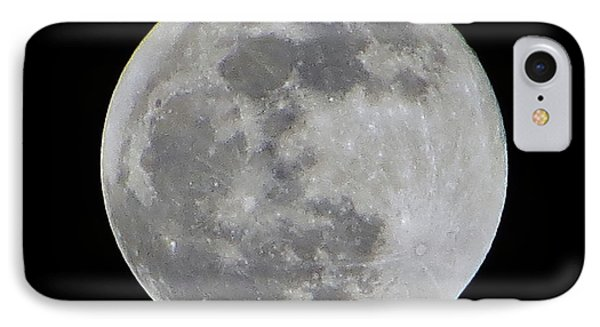 Full Moon Over Florida IPhone Case by Tim Townsend