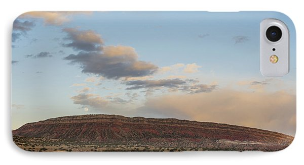 Full Moon Over Jemez Mountains - New Mexico IPhone Case