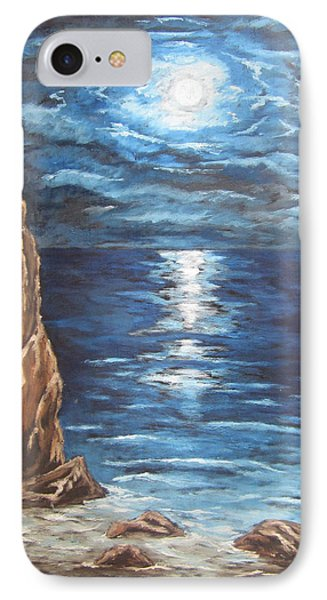 Full Moon Over Lake Ontario IPhone Case by Cheryl Pettigrew