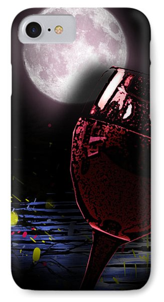 Full Moon IPhone Case by Persephone Artworks