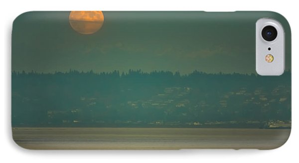 Full Moon Rises IPhone Case by Ronda Broatch
