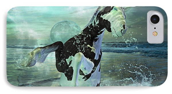 Full Moon Twist And Shout IPhone Case by Betsy Knapp