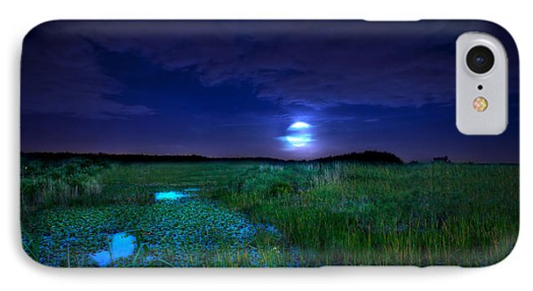 Full Moons And Fireflies IPhone Case by Mark Andrew Thomas