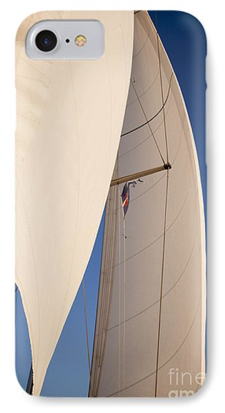Full Sails IPhone Case by Dustin K Ryan
