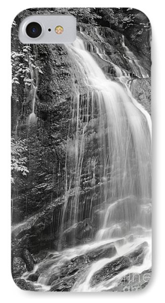 Fuller Falls Waterfall Black And White IPhone Case