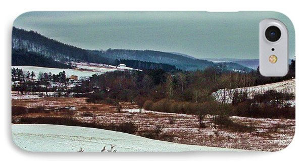 Fulmer Valley In Winter IPhone Case