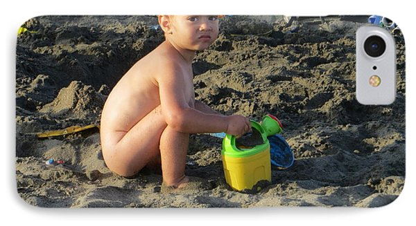 Fun At The Beach IPhone Case