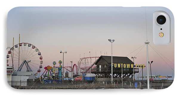 Fun At The Shore Seaside Park New Jersey Phone Case by Terry DeLuco