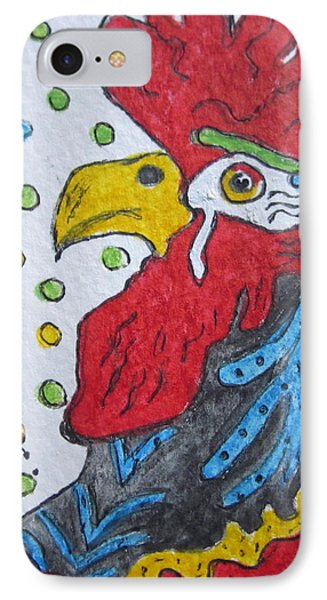 Funky Cartoon Rooster IPhone Case