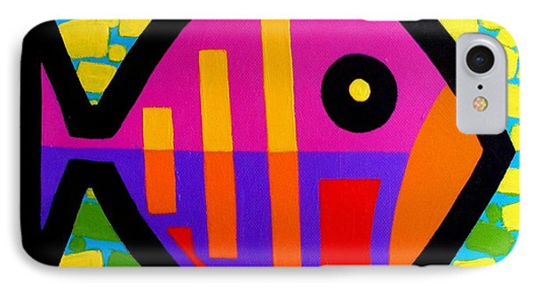 Funky Fish V IPhone Case by John  Nolan