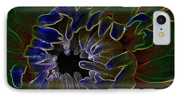 Funky Flower IPhone Case by Judy Wolinsky