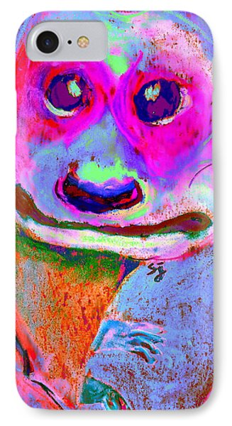 Funky Meerkat Tunnel Art Print IPhone 7 Case