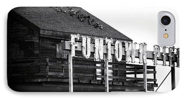 Funtown Pier Phone Case by John Rizzuto
