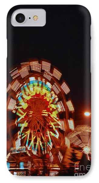 Fur Rondy Ferris Wheel In Anchorage IPhone Case by Cynthia Lagoudakis