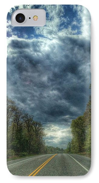 Furnace Branch Road IPhone Case by Toni Martsoukos