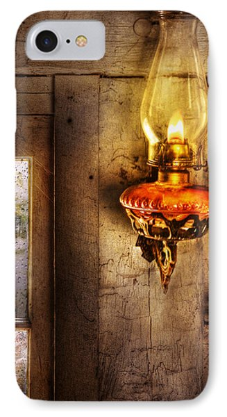 Furniture - Lamp - Kerosene Lamp Phone Case by Mike Savad
