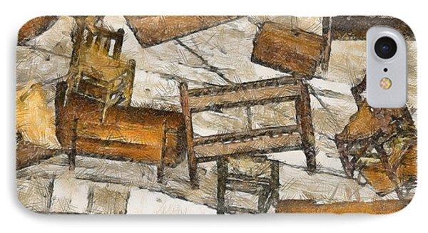 Furniture Phone Case by Trish Tritz