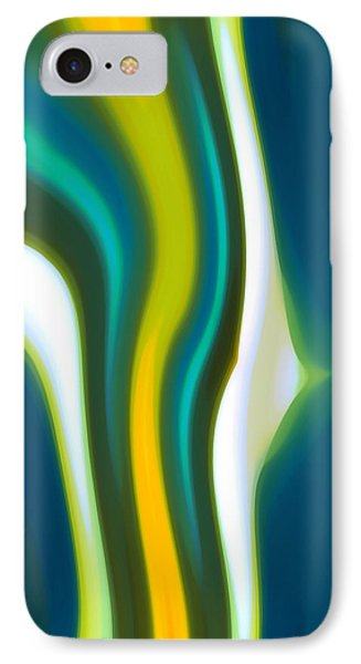 Abstract Tide 2 IPhone Case by Amy Vangsgard