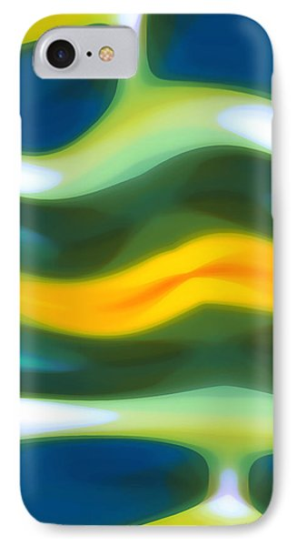 Abstract Tide 3 IPhone Case by Amy Vangsgard
