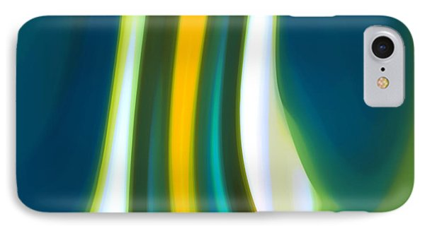 Abstract Tide 7 IPhone Case by Amy Vangsgard