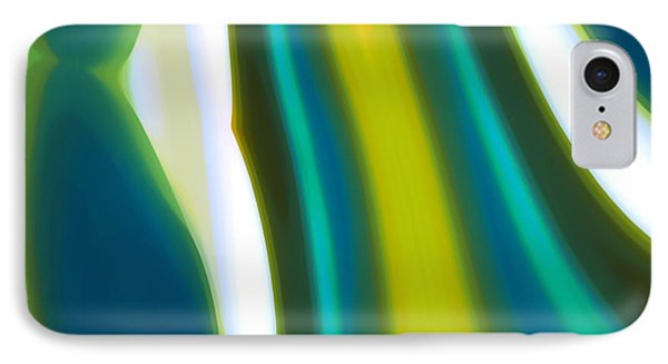 Abstract Tide 9 IPhone Case by Amy Vangsgard