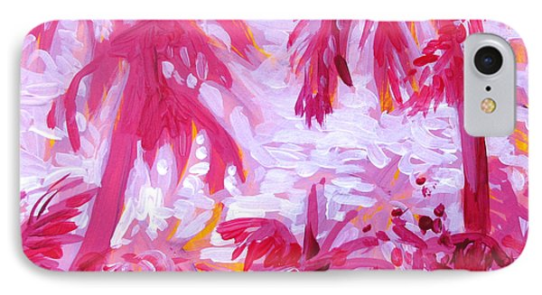 Fuschia Landscape IPhone Case