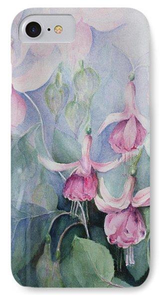 Fucshia, Pink Coachman IPhone Case by Karen Armitage