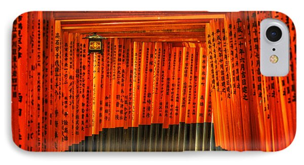 Fushimi Inari IPhone Case by Jonah  Anderson