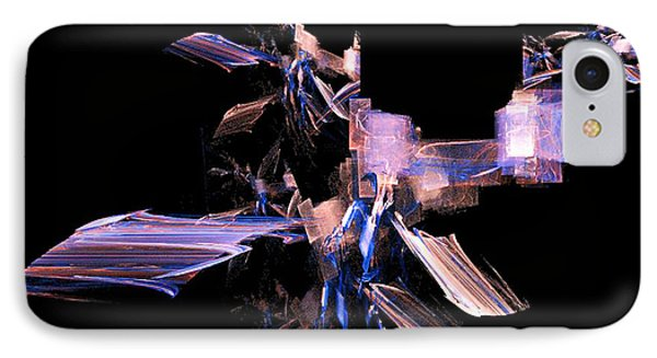 IPhone Case featuring the digital art Future Tech by R Thomas Brass