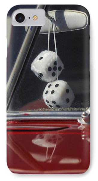 Fuzzy Dice 2 Phone Case by Jill Reger