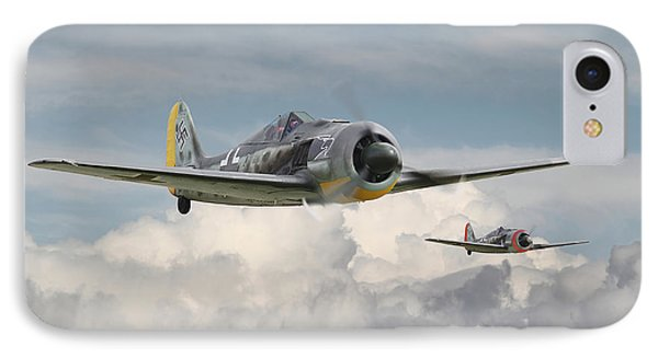 Fw 190 - Butcher Bird IPhone Case by Pat Speirs