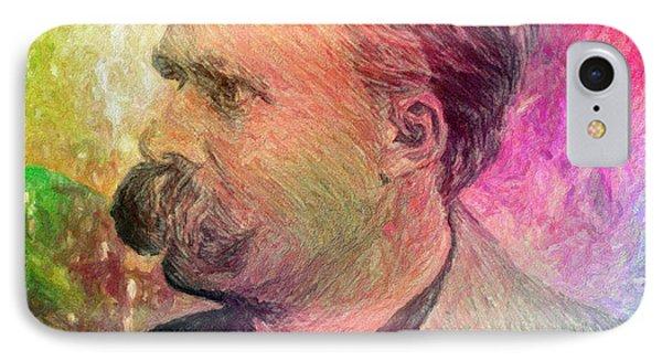 F.w. Nietzsche Phone Case by Taylan Apukovska