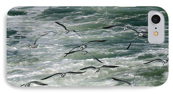 Fying Gulls IPhone Case