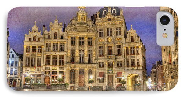 Gabled Buildings In Grand Place IPhone Case